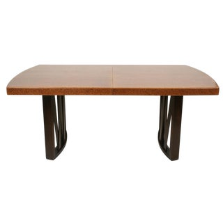 Paul Frankl for Johnson Furniture Company Cork Top Dining Table For Sale