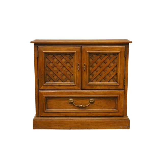 "Drexel Esperanto Collection Spanish Mediterranean 26"" Cabinet Nightstand 401-620 For Sale"