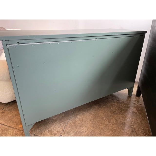 1960s Thomasville Chinoiserie Allegro Lowboy Dresser/Chest For Sale In Los Angeles - Image 6 of 10
