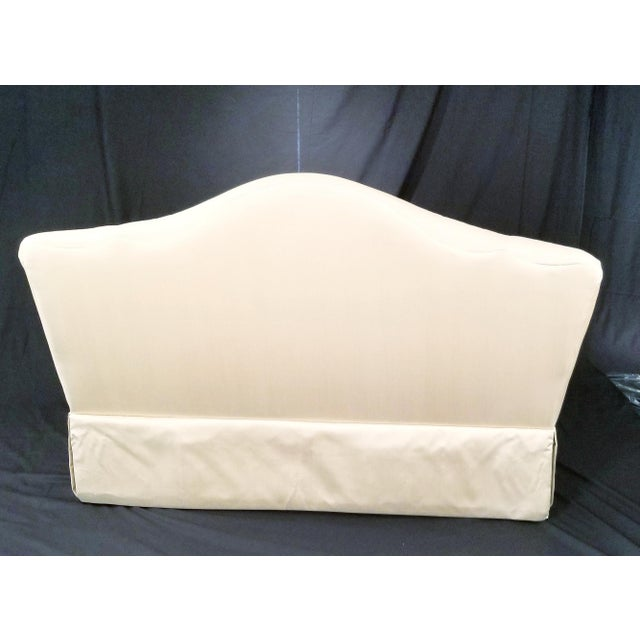 Tan Modern Century Furniture Signature Upholstery Settee For Sale - Image 8 of 11