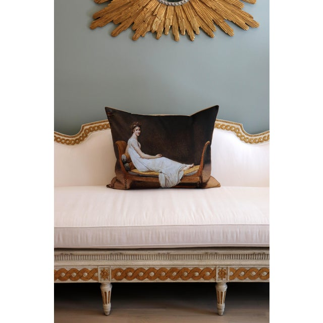 Canvas Paris Photo Pillow Juliette Recamier For Sale - Image 7 of 12