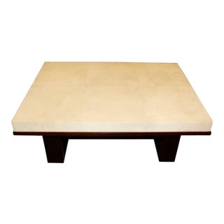 Beautiful Parchment Top Table by Christopher Kennedy For Sale