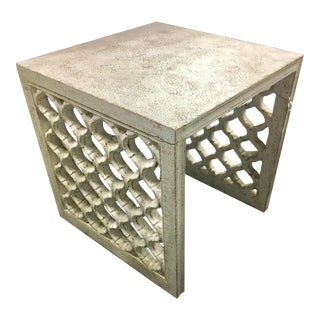 Contemporary Century Luna Side Table For Sale