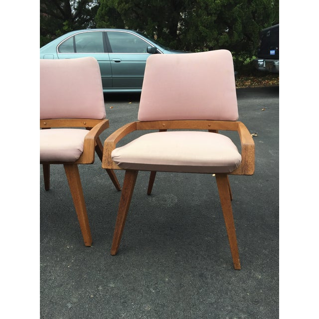 1950s John Keal by Brown Saltzman Dining Room Chairs - Set of 4 For Sale - Image 5 of 9