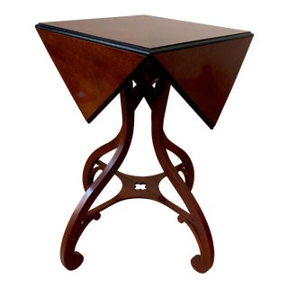 Baker Furniture Stately Homes Reproduction George III Handkerchief Table For Sale