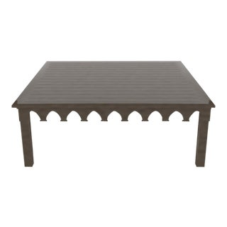 Oomph Ocean Drive 42 Outdoor Coffee Table, Dark Gray For Sale