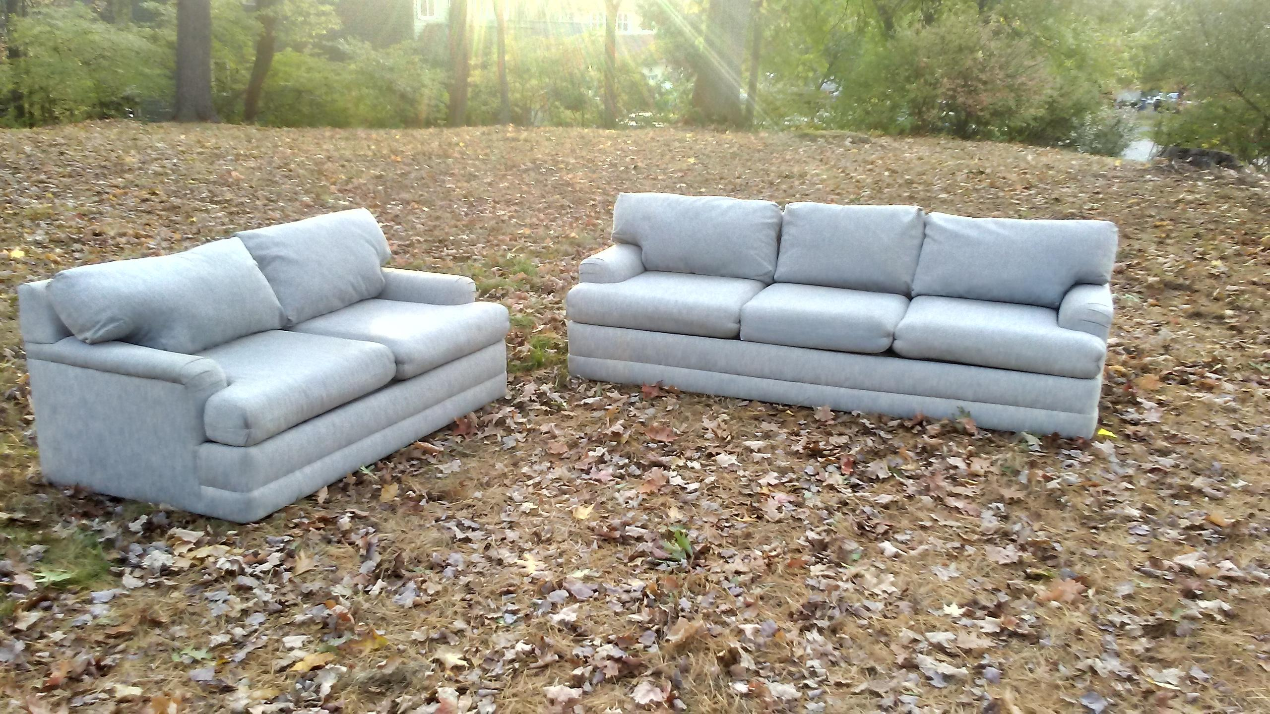 Selig Mid Century Sofas   A Pair   Image 2 Of 11