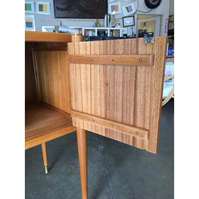 High Style Mid Century Mahogany Sideboard by Paul Frankl For Sale In Los Angeles - Image 6 of 9