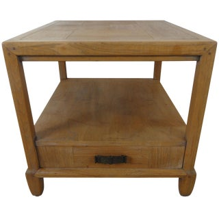 1970s Ming Century Furniture End Table For Sale