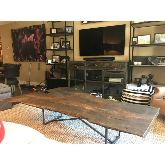 Boho Chic ABC Home Reclaimed Wood Coffee Table For Sale - Image 3 of 8
