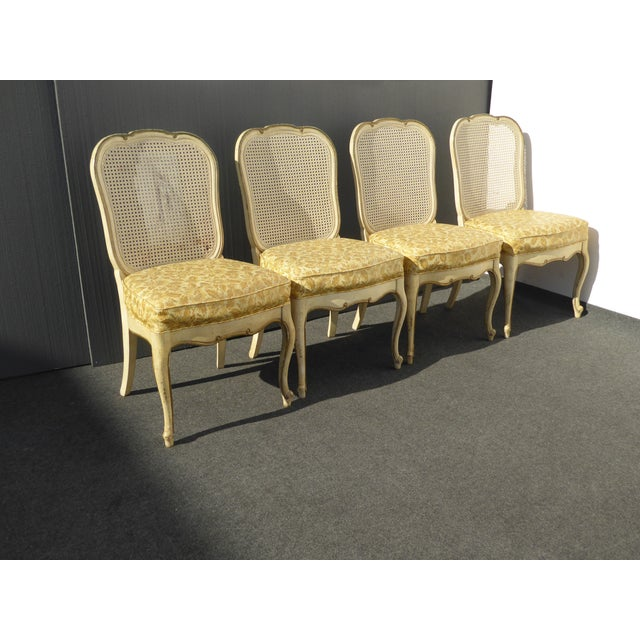 Thomasville French Cane Dining Chairs - Set of 6 For Sale In Los Angeles - Image 6 of 11