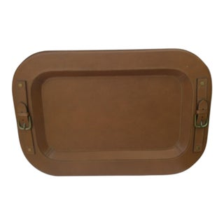 Ralph Lauren Leather Tray For Sale