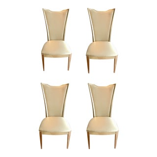 Caracole Very Appealing Dining Chairs Set of Four For Sale