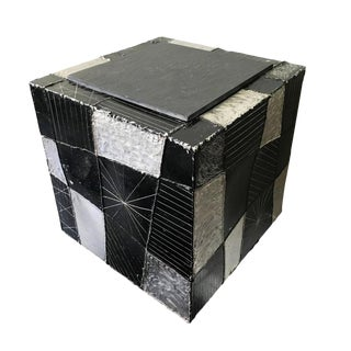 Paul Evans Argente Cube Table Model PE37 For Sale