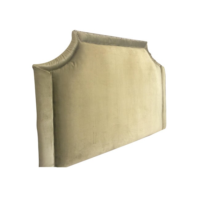 Queen Size Olive Green Headboard - Image 1 of 6