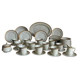Mikasa Colony Gold China C. 1970, 51 Pieces For Sale