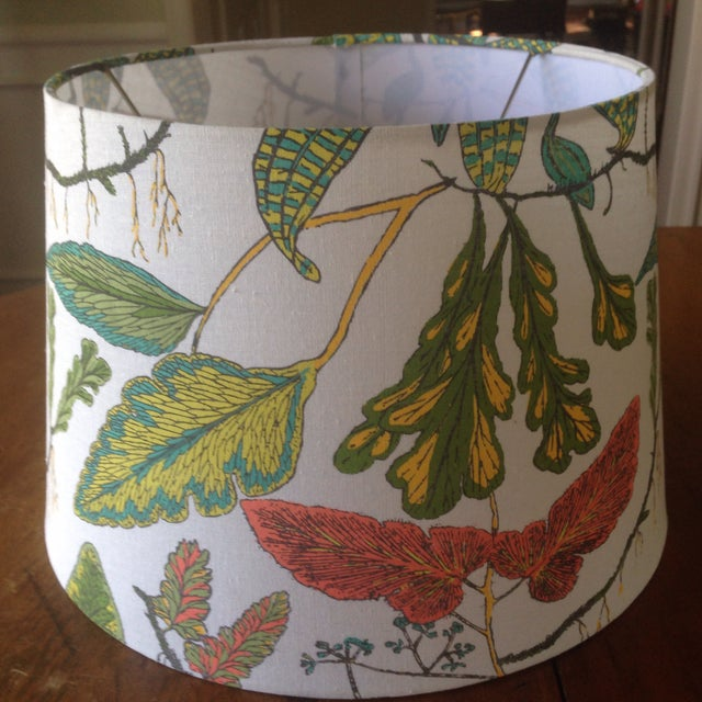 Vintage Botanical Print Lamp Shade For Sale - Image 11 of 11