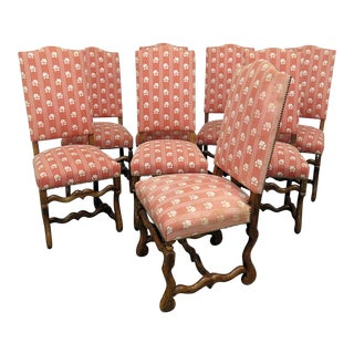Set of 8 Country French Side Chairs For Sale