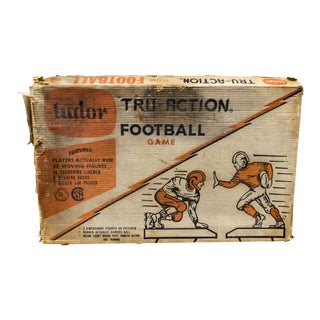 Tudor Tru Action Football Game Set in Working Condition