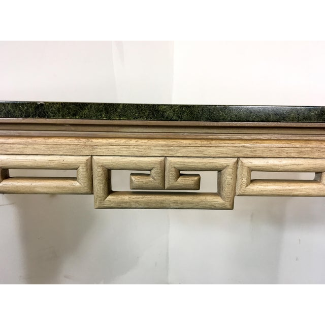 Italian Greek Key Tall Console Table - Image 3 of 6