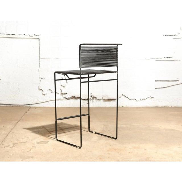"Giandomenico Belotti for Fly Line ""Spaghetti"" Bar Stools - A Pair - Image 4 of 7"