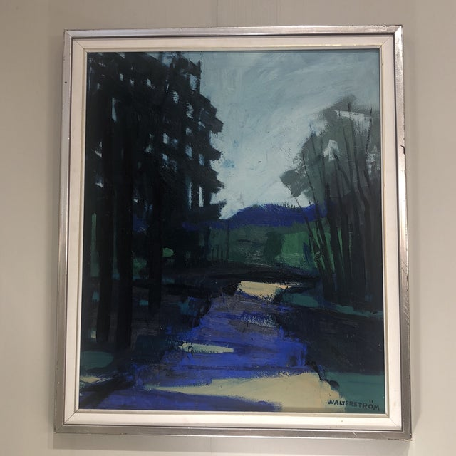 """""""Twilight at the Edge of the Forest"""" Painting For Sale - Image 12 of 13"""