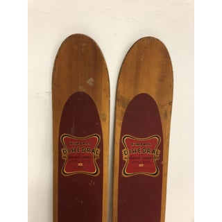 Vintage Wood Water Skis - Great for Cabin Decor Preview