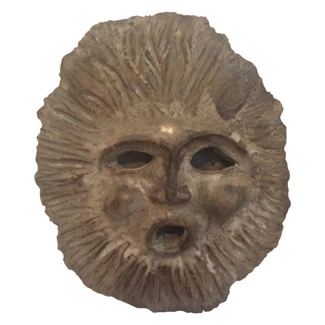 1970 Signed Vintage Studio Pottery Face Sculpture - Image 1 of 8