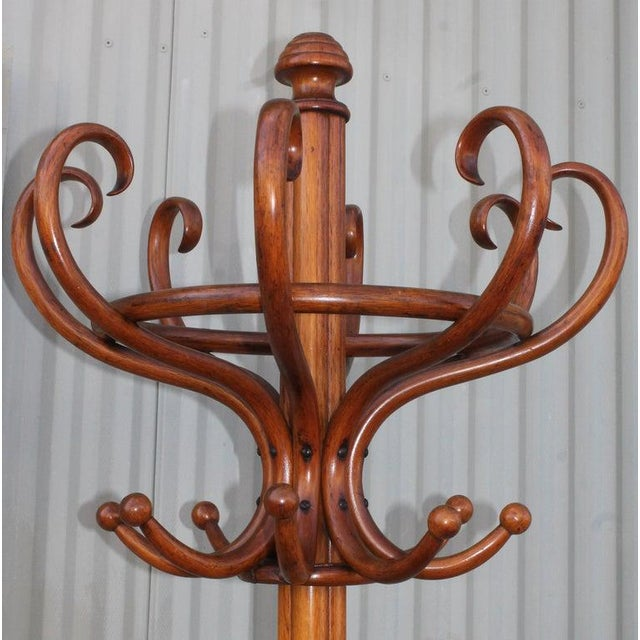 19th Century Bentwood Hat and Coat Stand For Sale - Image 4 of 6