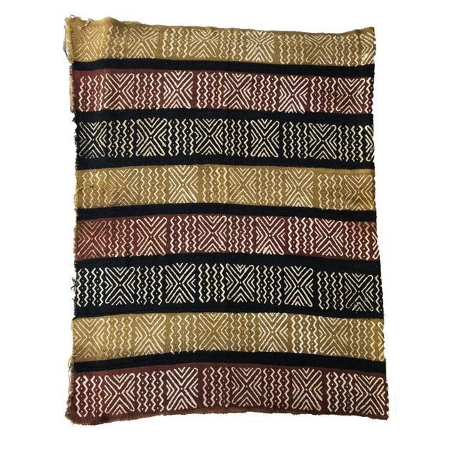 1980s Bogolan Mali Mud Cloth Textile For Sale - Image 5 of 8