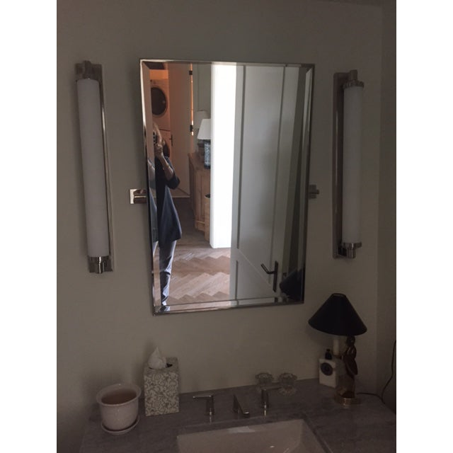 Restoration Hardware Bathroom Mirror - Image 3 of 3