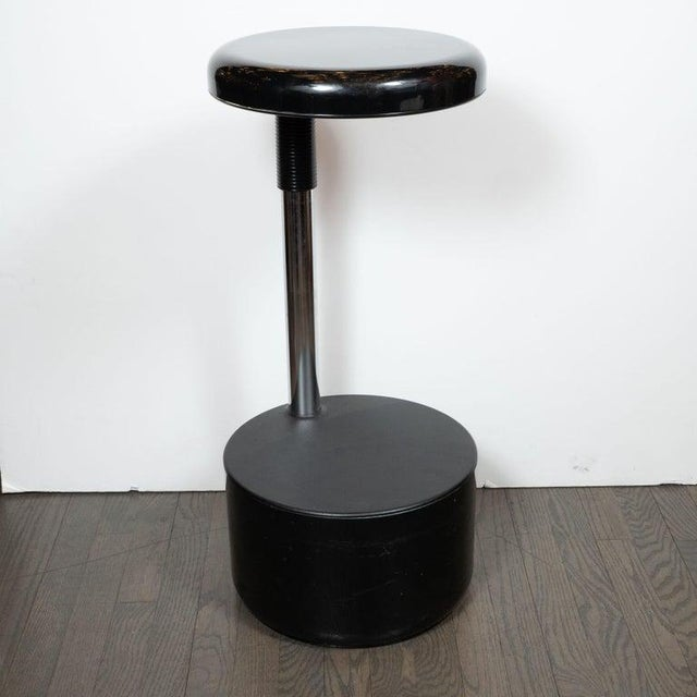 1960s Mid-Century Modern Lucci & Orlandini for Velca Legnano Modern Stools - Set of 4 For Sale - Image 5 of 12