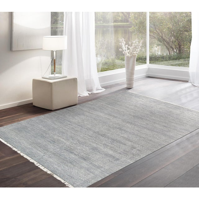"Pasargad Transitional Silk & Wool Rug- 8' 8"" X 11'10"" - Image 3 of 3"