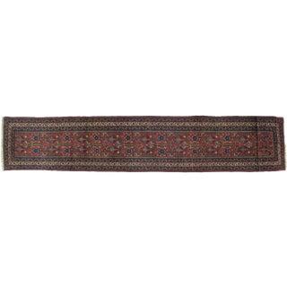 Leon Banilivi Antique Tabriz Rug - 2′4″ × 13′8″ For Sale