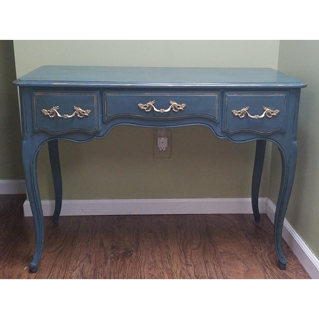 Hand Painted Desk/Vanity - Image 5 of 5
