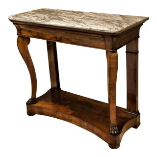 Louis Philippe Console Table, Circa: 1835, France For Sale