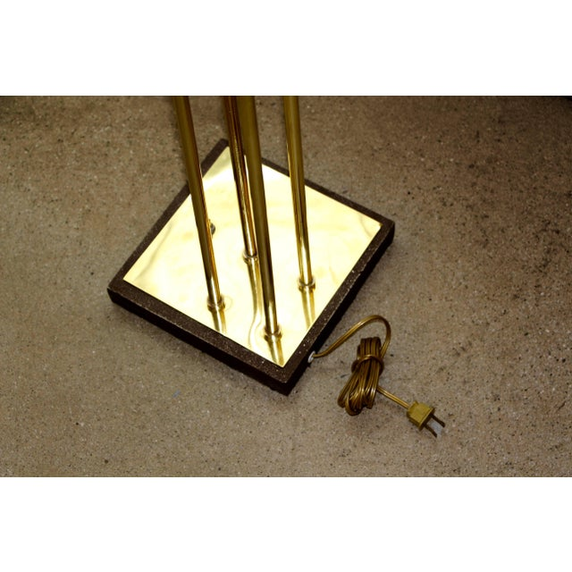 1970s Reggiani Brass Floor Lamp With Four Heads For Sale - Image 5 of 8
