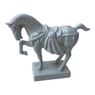 Ceramic Horse Figurine For Sale