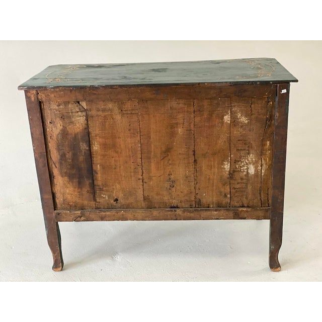 Chinoiserie 18th C. Venetian Chinoiserie Commode For Sale - Image 3 of 11