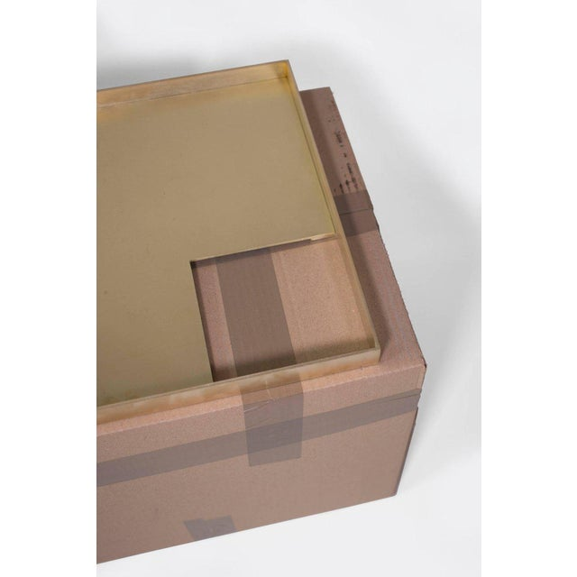 Contemporary Modern Contemporary 002 Tray in Brass by Orphan Work For Sale - Image 3 of 5