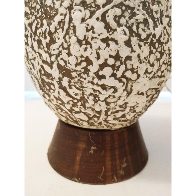 Vintage Textured Orb Table Lamps - A Pair - Image 4 of 4