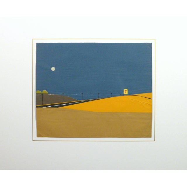 Desert Road Collage For Sale - Image 4 of 5