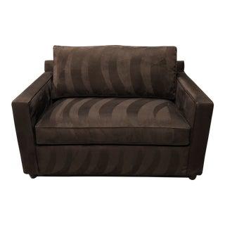 Crate & Barrel Barrett Sleeper Chair For Sale