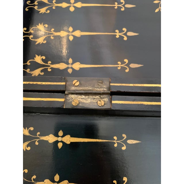 Chinese Hand Painted Lacquered Game Board For Sale - Image 4 of 13
