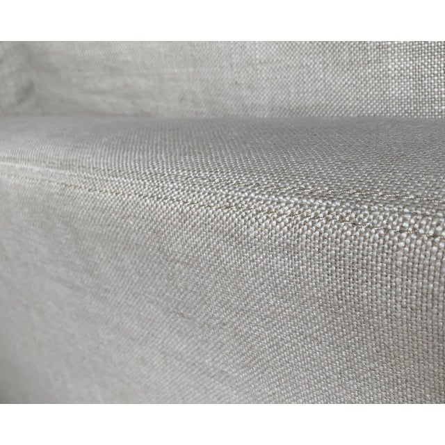 2010s Restoration Hardware Belgian Track Arm Sofa For Sale - Image 5 of 7