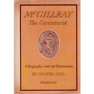 """1965 """"Mr. Gillray: The Caricaturist"""" Collectible Book For Sale"""