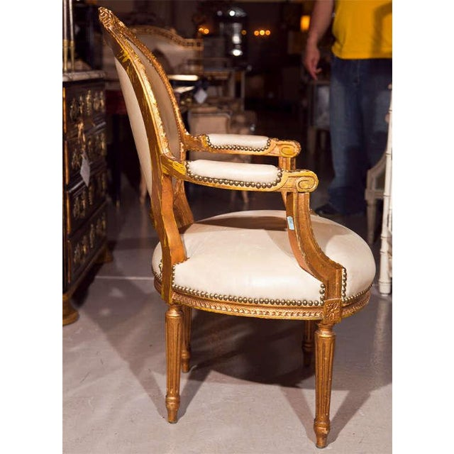 Maison Jansen French Louis XIV Armchairs - A Pair For Sale In New York - Image 6 of 11