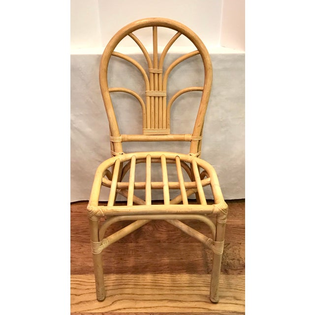 Love this natural bamboo chair. Pair with your favorite cushion for a versatile side chair!