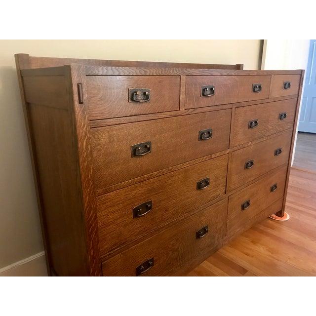 Stickley Mission Oak Dresser Chairish