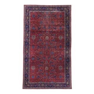 Antique Turkish Sparta Palace Rug, 10'09 X 19'01 For Sale